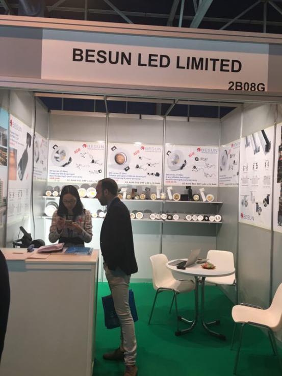besun led lighting fair