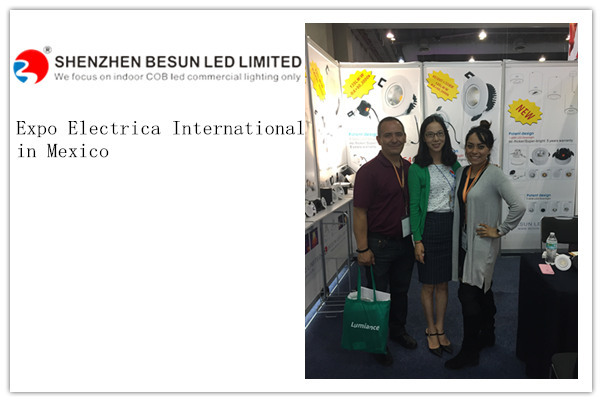 All Samples Sold in Expo Electrica International in Mexico - BESUN